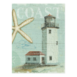 Carte Postale La Maison Blanche sur la plage