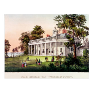 Carte Postale La maison de George Washington