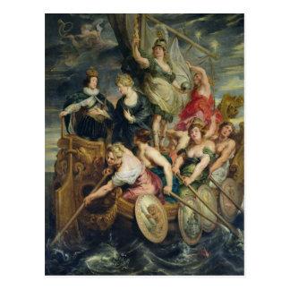 Carte Postale La majorité de Louis XIII