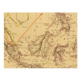 Carte Postale La Malaisie