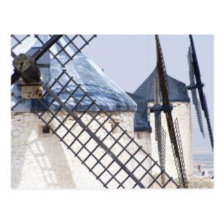 Carte Postale La Mancha, Espagne. Don don Quichotte célèbre