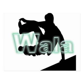 Carte Postale La marque de Wala