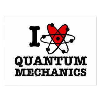 Carte Postale La mécanique quantique