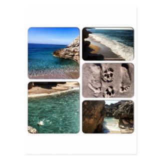 Carte Postale La Mer Adriatique Albanie