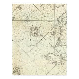 Carte Postale La mer Méditerranée 5