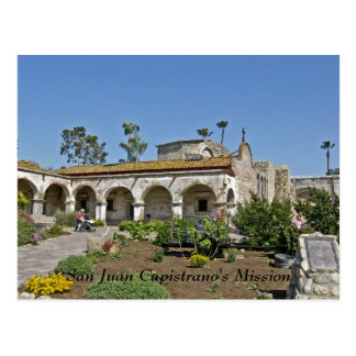 Carte Postale La mission de San Juan Capistrano