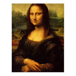 Carte Postale La Mona Lisa