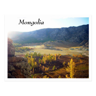 Carte Postale La Mongolie