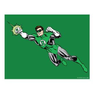 Carte Postale La mouche de lanterne verte est partie de 2