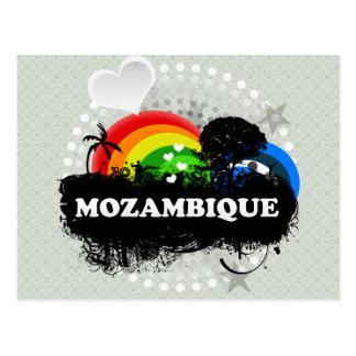 Carte Postale La Mozambique fruitée mignonne