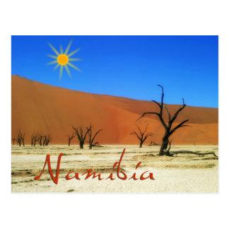 Carte Postale La Namibie
