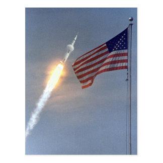 Carte Postale LA NASA : Apollo11