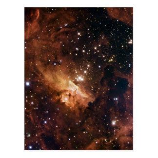 Carte Postale La NASA brune d'étoiles de Pismis 24