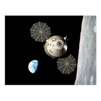 Carte Postale La NASA Orion dans l'orbite lunaire