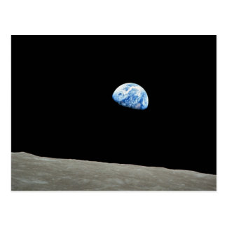 Carte Postale LA NASA - Vue d'Apollo8, Dec24, Earthrise