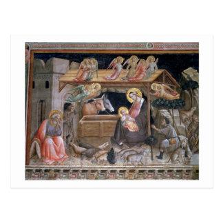 Carte Postale La nativité, détail de la vie de la Vierge a