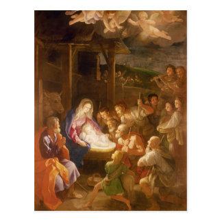 Carte Postale La nativité la nuit, 1640
