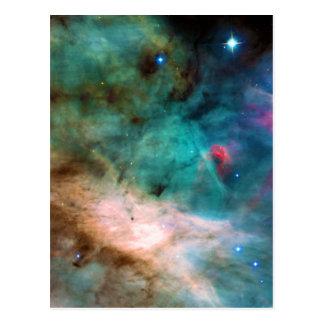Carte Postale La nébuleuse des 17 NGC plus malpropres 6618 M17