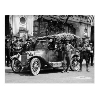 Carte Postale La noix de coco a conduit : 1922