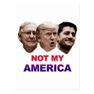 Carte Postale La non mon Amérique