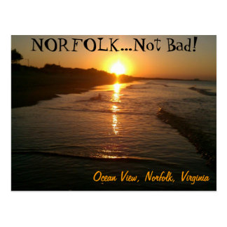 Carte Postale La Norfolk la Virginie Poscard