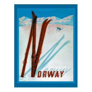 Carte Postale La Norvège