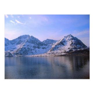 Carte Postale La Norvège, voyage par les fijords