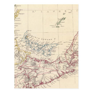Carte Postale La Nouvelle-Écosse, NOTA:, Canada inférieur