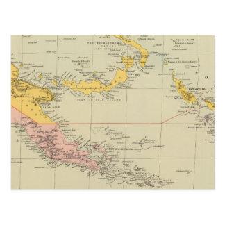 Carte Postale La Nouvelle-Guinée et îles Salomon