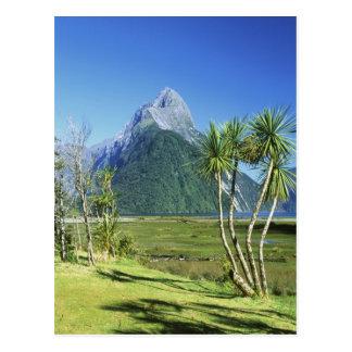 Carte Postale La Nouvelle Zélande, île du sud, crête de mitre,