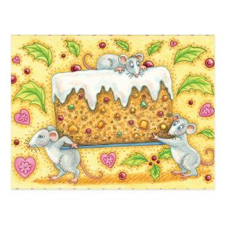 Carte Postale Là où a fait le gâteau de fruits secs allez