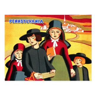 Carte Postale La Pennsylvanie amish et rurale