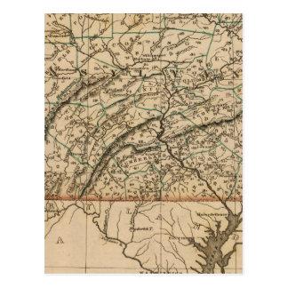 Carte Postale La Pennsylvanie, New Jersey
