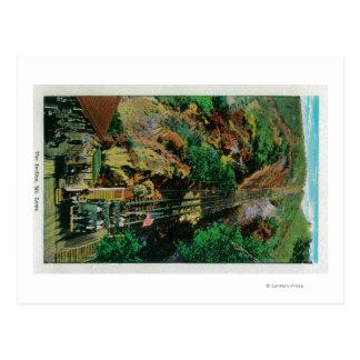 Carte Postale La pente à Mt. LoweMt. Lowe, CA