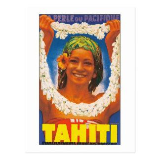 Carte Postale ~ La Perle du Pacifique du Tahiti