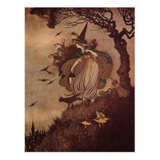 Carte Postale La petite sorcière