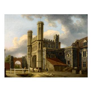 Carte Postale La porte Cantorbéry Angleterre de St Augustine