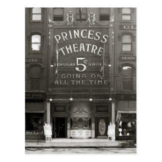 Carte Postale La princesse Theatre, 1910