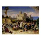 Carte Postale La prise de Beyrouth par les croisés