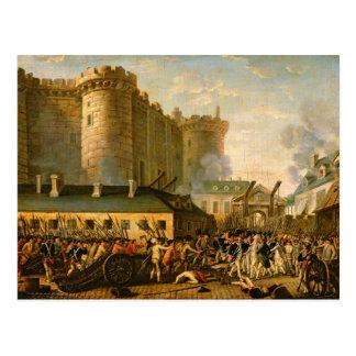 Carte Postale La prise de la bastille, le 14 juillet 1789