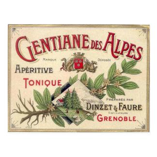 Carte Postale La publicité vintage