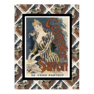 Carte Postale La publicité vintage, savon français