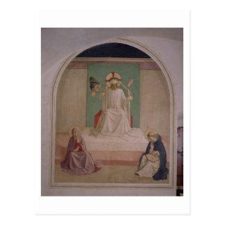 Carte Postale La raillerie du Christ avec la Vierge et le St