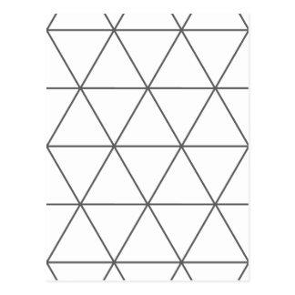 Carte Postale La règle de la triangle 01