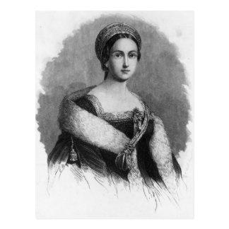 Carte Postale La Reine Anne Boleyn