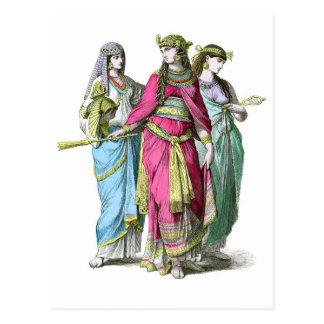 Carte Postale La Reine égyptienne antique Cléopâtre
