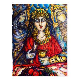 Carte Postale La Reine Esther