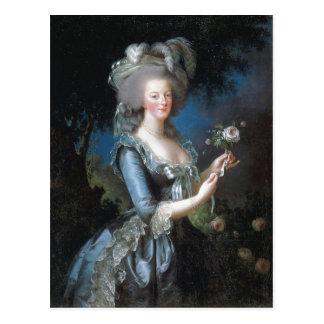 Carte Postale La Reine Marie Antoinette de description sommaire