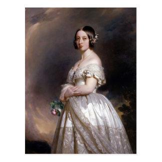 Carte Postale La Reine Victoria de Franz Xaver Winterhalter-