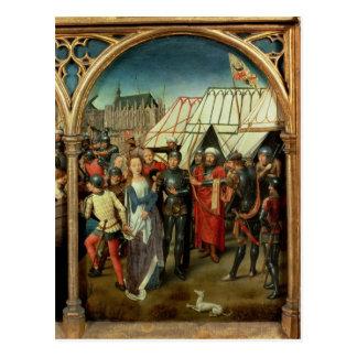 Carte Postale La reliquaire de St Ursula, 1489